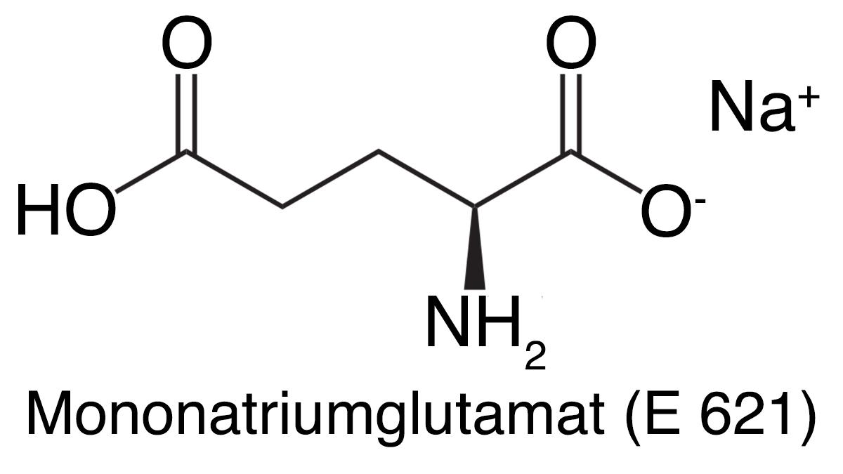 Mononatriumglutamat (E 621)